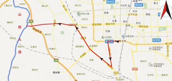 赞皇县槐北新区规划图