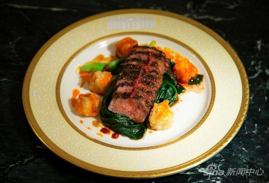 白宫展示了第三道菜,带有枸杞元素的炙烤羊肉