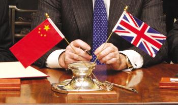 英国财政大臣乔治·奥斯本正在中国访问