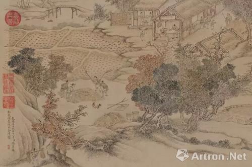 冯宁 《金陵图》(局部)