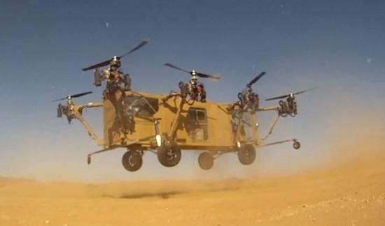 美國陸軍用機器人運送傷員 未來可代人出征