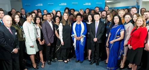 9月26日,女性赋权全球企业家领袖会议在美国举行。(图片来自联合国妇女署官方网站)