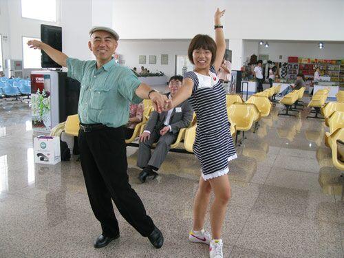 武宫正树与王祥云舞蹈
