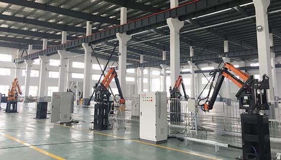縣城裡機器人產業園:僅兩三家卻宣稱產值上百億