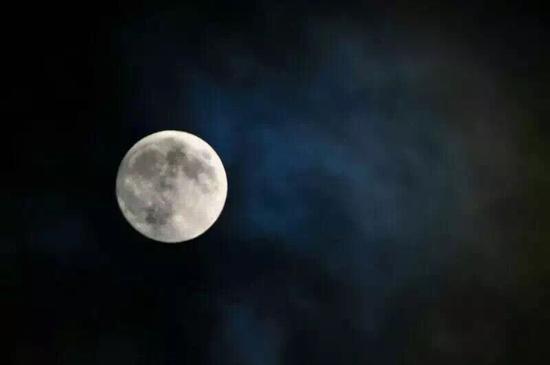 海口的超级月亮