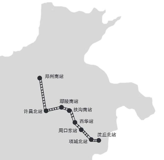 郑阜高铁河南境内设8站