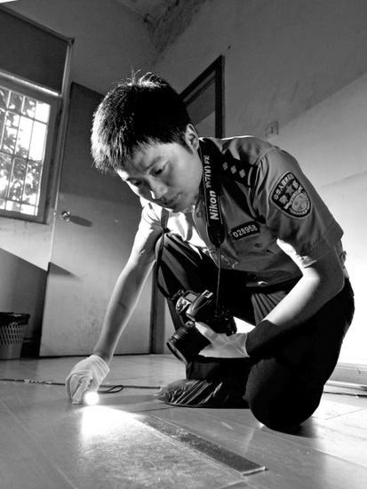刘鹏工作照。