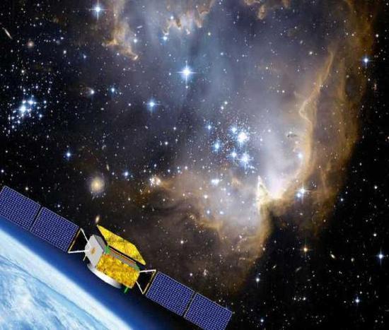 暗物质卫星示意图,中科院国家空间科学中心供图