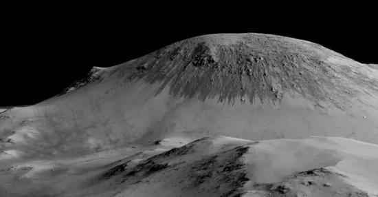 纽约时报率先披露,在火星表面发现液态水的迹象。(供图/NASA)