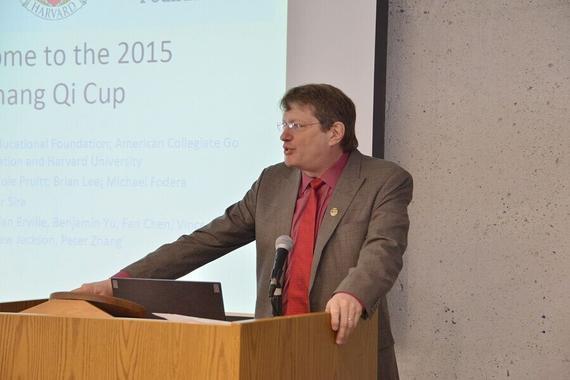 美国围棋协会会长Andrew Okun