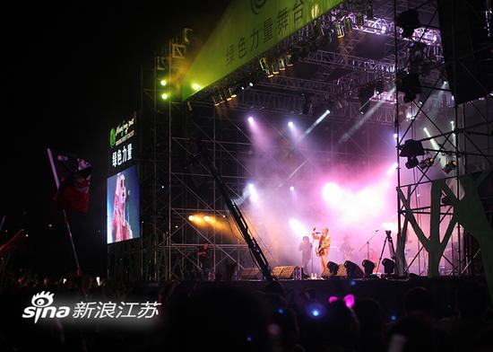 南京森林音乐会现场。