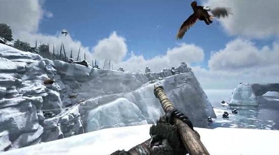 《方舟:生存进化》雪地场景