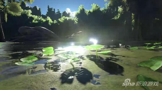 《方舟:生存进化》沼泽场景