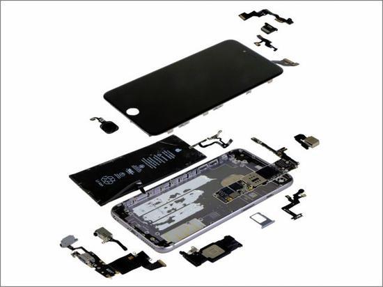苹果6s拆机图解