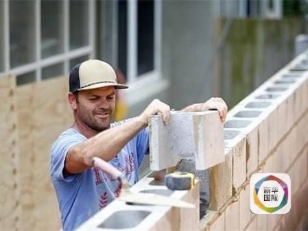 澳大利亚砌砖工人日薪超四千 可技术移民澳洲