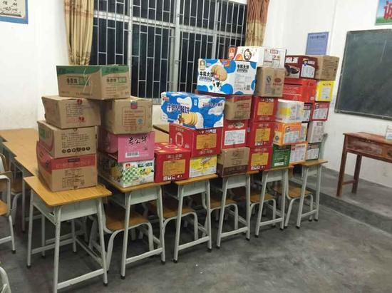 向居民发放的应急食品已经到位