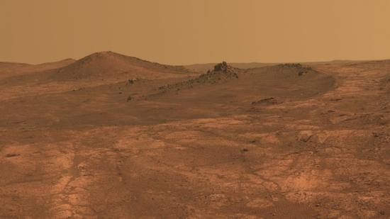 机遇号火星车拍摄的火星照片