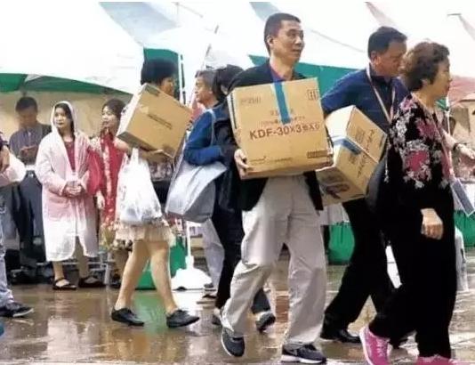 中国人在日本购物