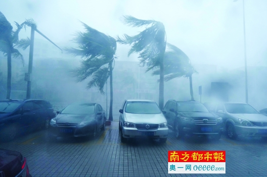 15级强台风彩虹登陆 湛江1人身亡16渔民暂下