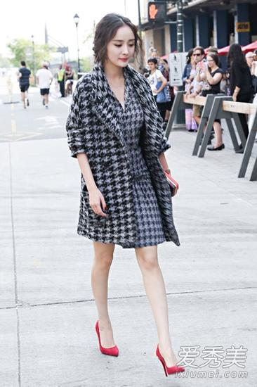 杨幂亮相2014年春夏纽约时装周