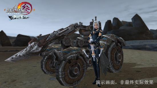 神机战车助战日常