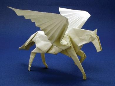 马怎么折纸图解