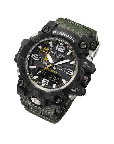 卡西欧G-SHOCK MUDMASTER系列GWG-1000腕表