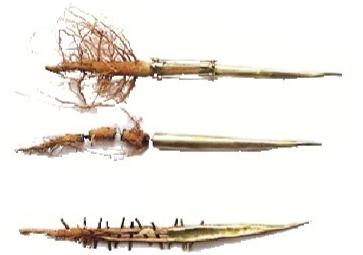 修系列胸针 Dania Chelminsky丹妮娅·车尔明斯基 善于将自然界材质化腐朽为神奇。