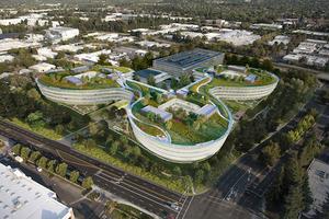 苹果又要在硅谷开建新园区 这次长得像个四叶草