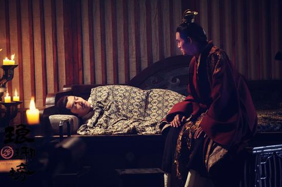 靖王萧景琰探望病重的梅长苏
