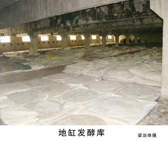 地缸发酵库