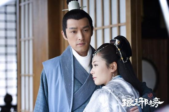 胡歌,刘涛在《琅琊榜》剧照