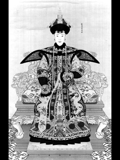 《纯惠皇贵妃朝服像》小小供图
