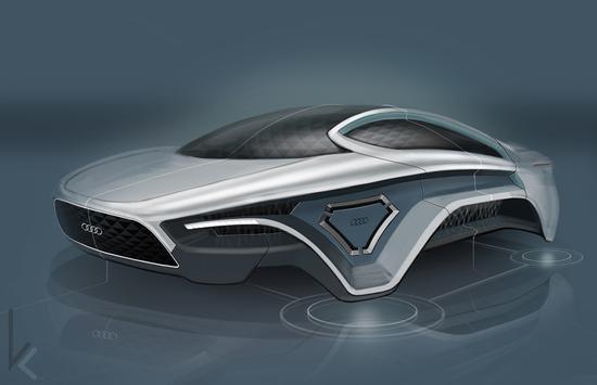 奥迪磁悬浮概念车 无轮零排放秒杀高铁 奥迪 概念车 识趣 新浪科技 新浪网