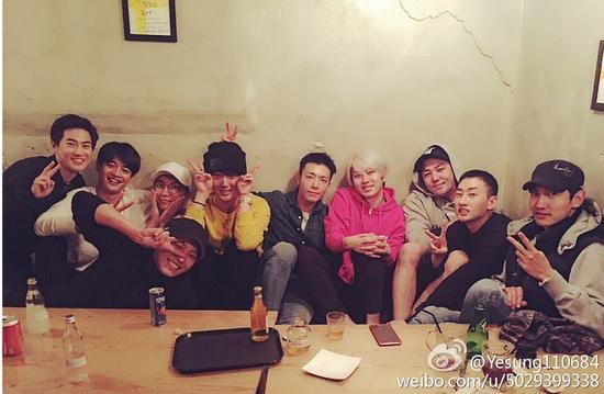 SUHO、珉豪、利特、灿烈、艺声、东海、希澈、强仁、银赫、昌珉