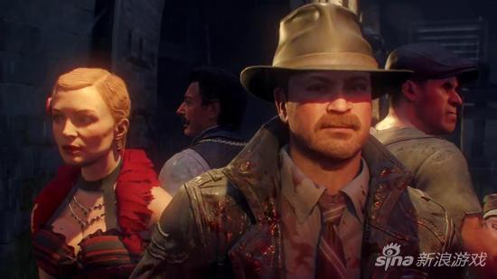 丧尸模式中的四位主角特点各不相同