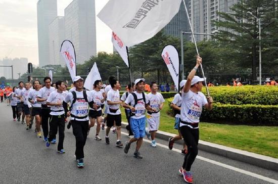 深圳马拉松。