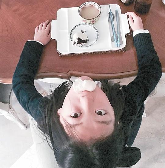 9岁的李嫣