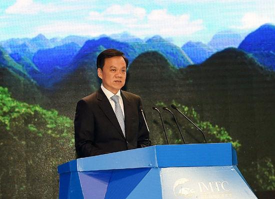 """""""60后""""贵州省委书记、省长陈敏尔。"""