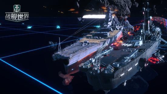 星际战舰驰骋宇宙空间
