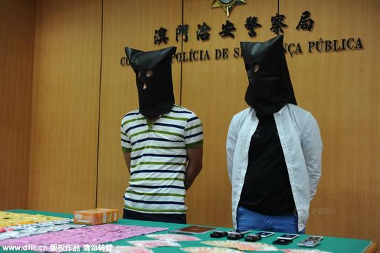 澳门两男子操控内地女卖淫 拉客年纪最小17岁
