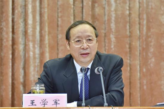 现任安徽省委书记王学军今年63岁。