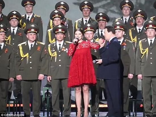 卡巴耶娃早前公开露面的图片