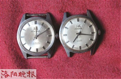 二十世纪六十年代的上海牌手表