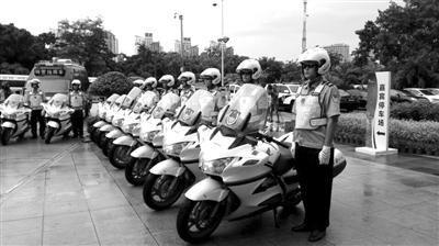 三亚市公安局旅游警察支队。(图片由三亚公安提供)