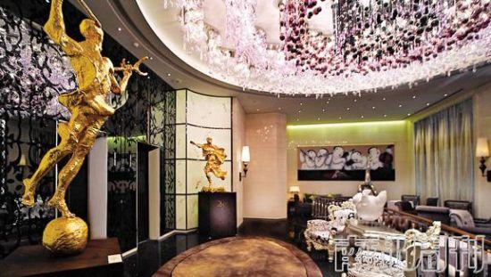 北京怡亨酒店以收藏多件艺术珍品而闻名。