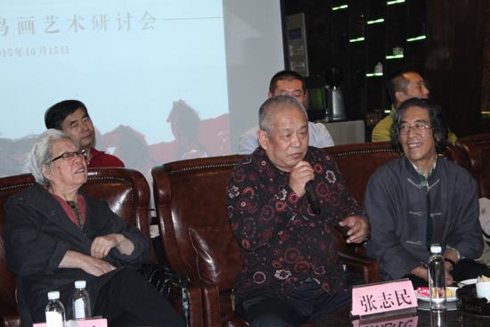 山东艺术学院院长、山东省美术家协会主席张志民