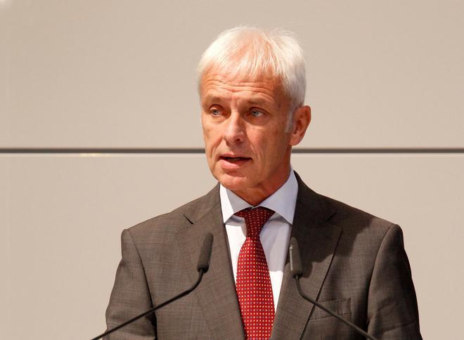 新任大众集团CEO穆勒(Matthias Müller )