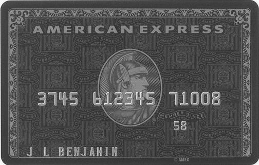 全球限量黑金卡