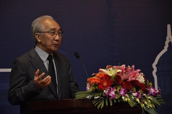 中国美术家协会名誉主席靳尚谊先生致辞 摄影刘海超